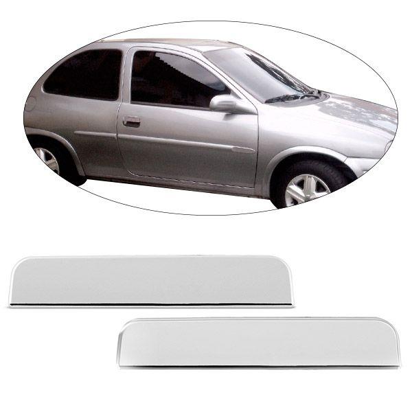 Aplique Cromado para Maçaneta Externa da Porta Corsa Vectra Astra Omega 2 Portas  - AutoParts Online