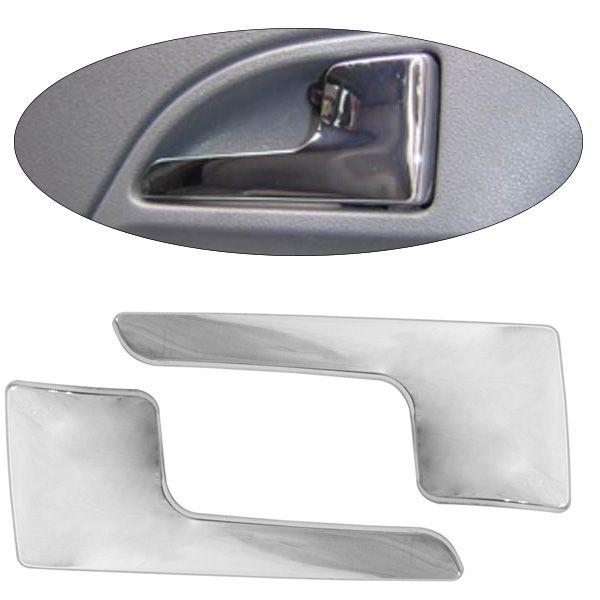 Aplique Cromado para Maçaneta Externa Porta ? Fox 2003, Gol 2006 ? 2 portas  - AutoParts Online