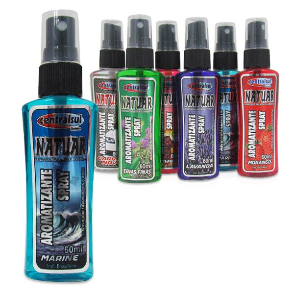 Perfume Aromatizante para Veículos e Ambientes Marine  - AutoParts Online