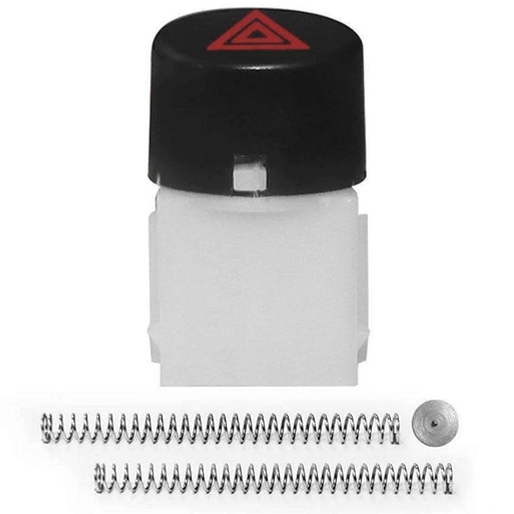 Botão Interruptor do Pisca Alerta Fiat Uno Way Vivace 2010 em diante Nova Fiorino Todas  - AutoParts Online