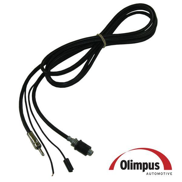 Cabo de Extenção para antena Olimpus ( Especifico para GM Corsa Montana Meriva Prisma )  - AutoParts Online