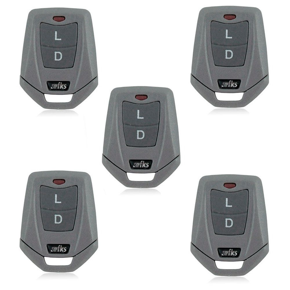 Caixa para Controle Remoto CR955 Alarme FKS 5 Unidades  - AutoParts Online