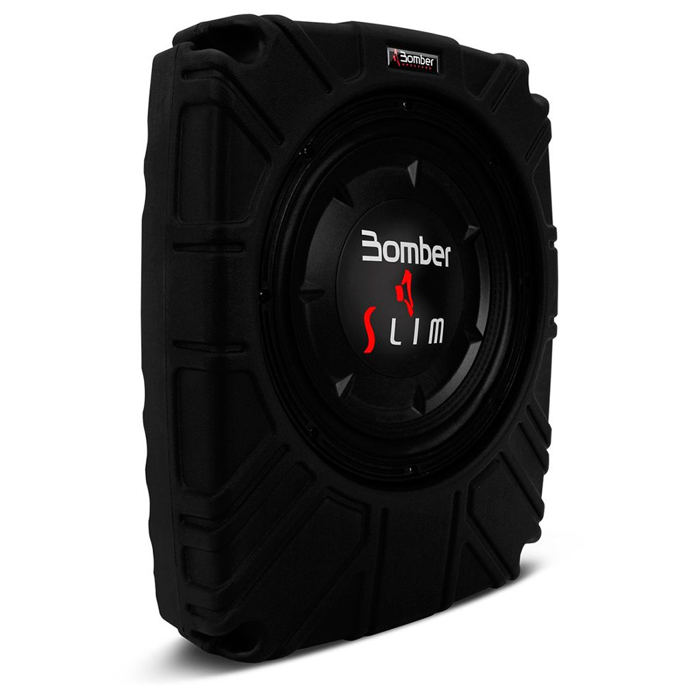 Caixa Selada Slim Bomber 10? Passiva 200W RMS 4 ohms  - AutoParts Online