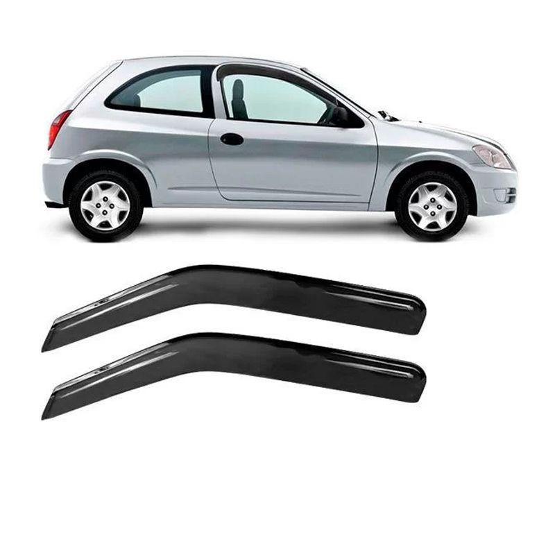 Calha de Chuva Acrilica Adesiva Chevrolet Celta                     - AutoParts Online