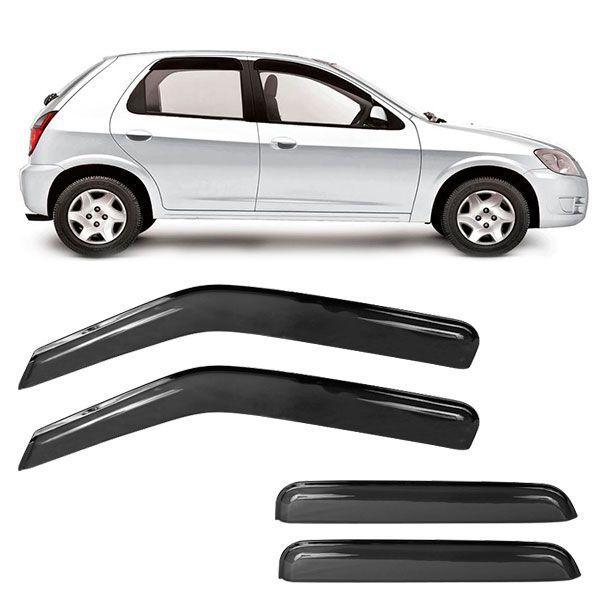 Calha de Chuva Acrilica Adesiva Chevrolet Celta/Prisma  - AutoParts Online