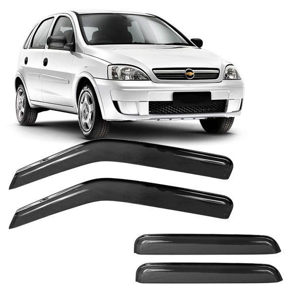 Calha de Chuva Acrilica Adesiva Chevrolet Corsa 2002 4P  - AutoParts Online