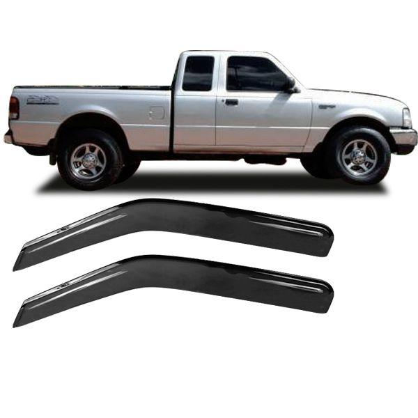 Calha de Chuva Acrílica Adesiva Chevrolet S10 ? 2 portas  - AutoParts Online