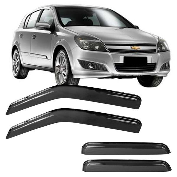 Calha de Chuva Acrílica Adesiva Chevrolet Vectra ? 4 portas  - AutoParts Online