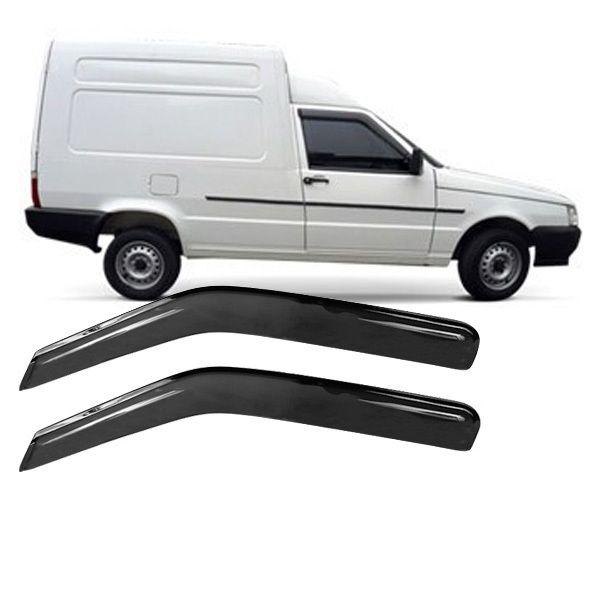 Calha de Chuva Acrilica Adesiva Fiat Fiorino Top Mix  - AutoParts Online