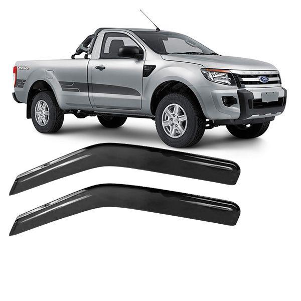 Calha de Chuva Acrílica Adesiva Ford Ranger 96/11 ? 2 portas  - AutoParts Online
