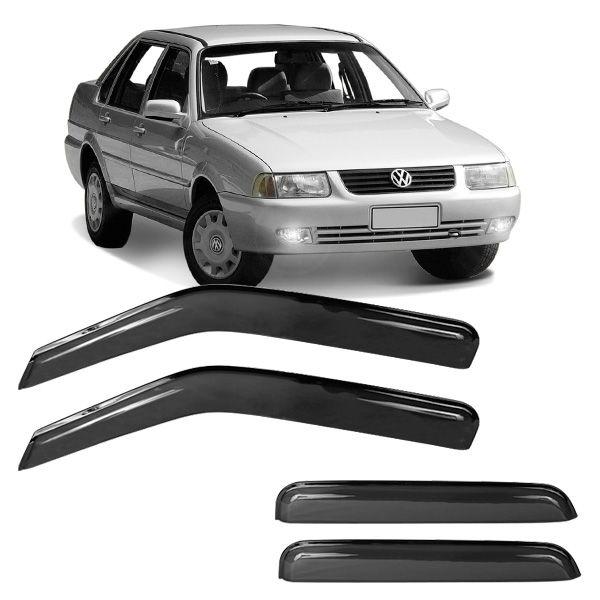 Calha de Chuva Acrílica Adesiva Volkswagen Santana Quantum 1996 a 2006 4 portas  - AutoParts Online