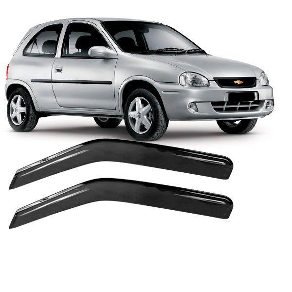 Calha de Chuva Acrílica Adesiva Chevrolet Corsa ? 2 portas  - AutoParts Online