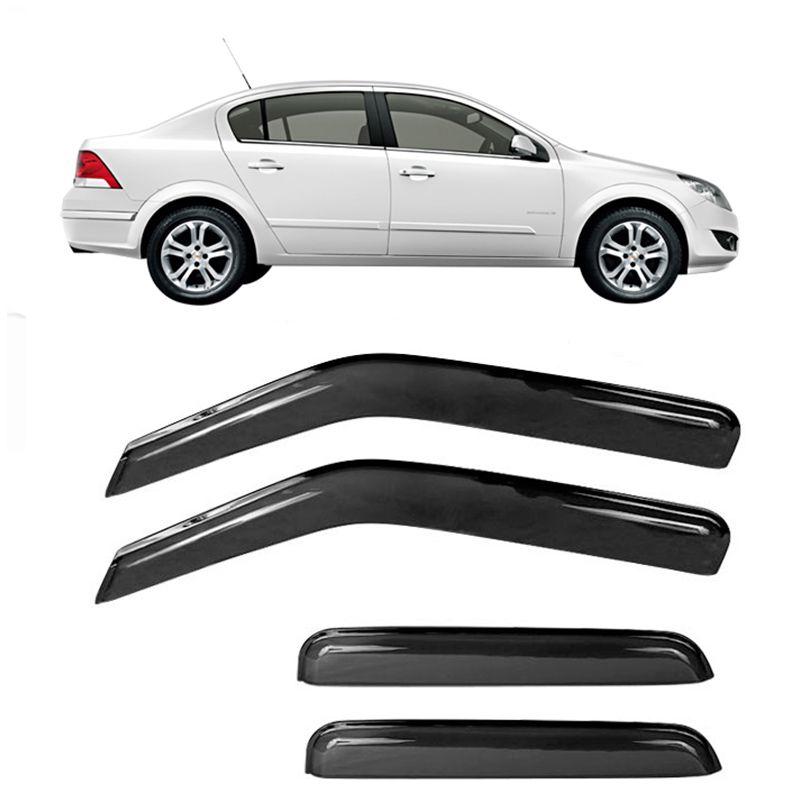 Calha de Chuva Acrílica GM Vectra Sedan 1997 a 2005 4 Portas  - AutoParts Online