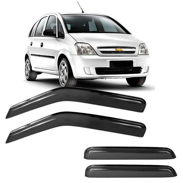 Calha de Chuva Acrilica Adesiva Chevrolet Meriva 4P  - AutoParts Online