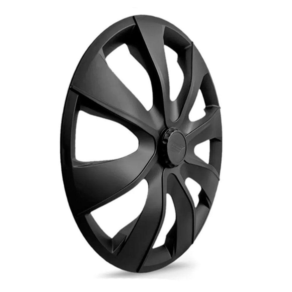 Calota Esportiva Prime Aro 14 Fosc Black Encaixe Universal Unidade  - AutoParts Online