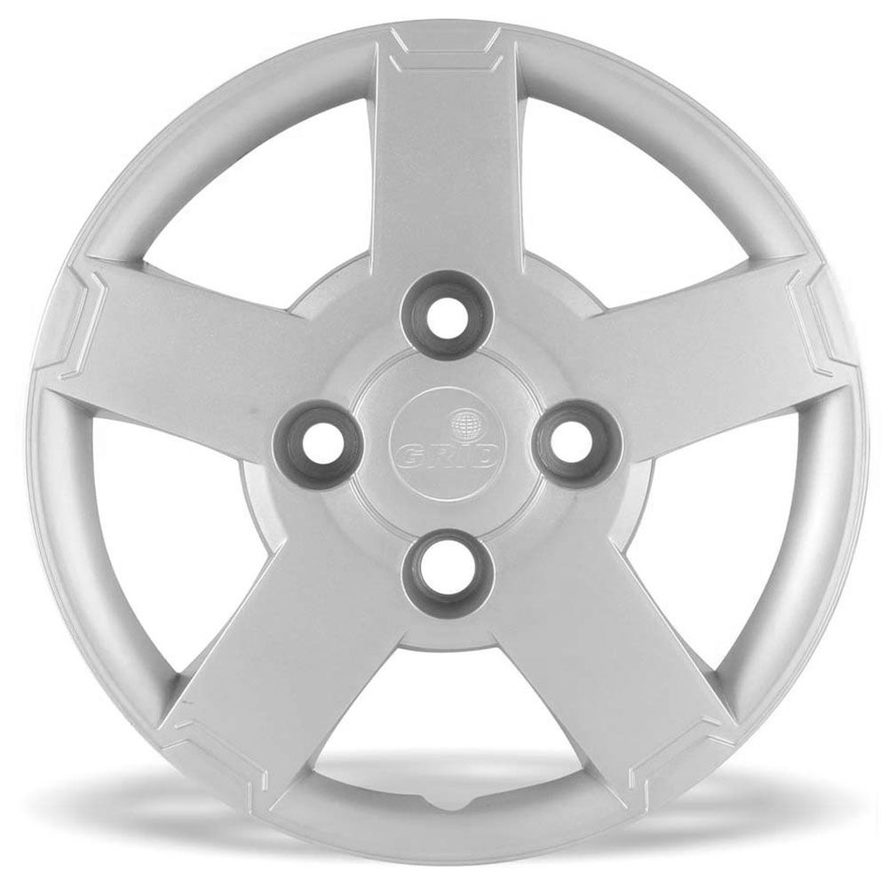Calota Grid Aro 13 Prata Ford Ka 2008 a 2012 Unidade  - AutoParts Online