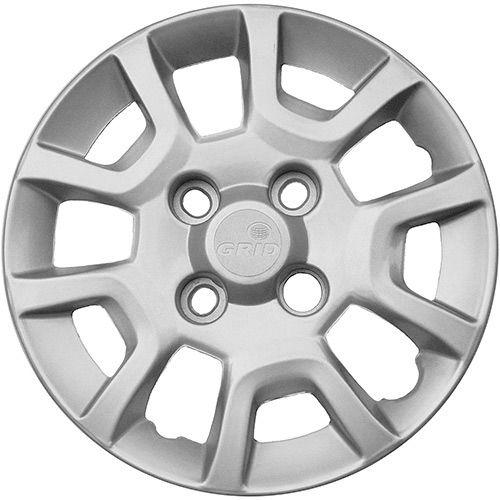 Calota Grid Aro 13 Prata Ford Ka 2014  - AutoParts Online