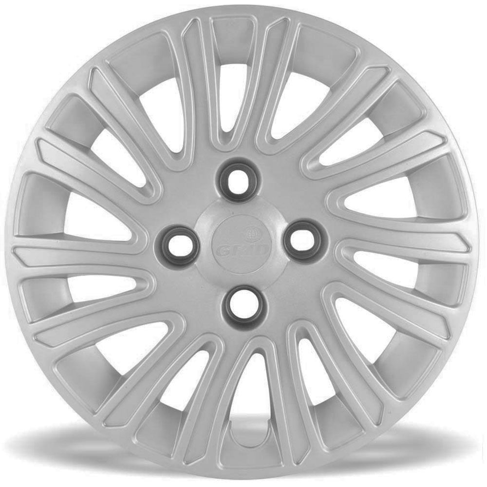 Calota Grid Aro 14 Prata Fiat Grand Siena 2012 e 2013 Unidade  - AutoParts Online