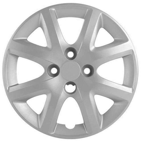 Calota Grid Aro 14 Prata Fiat Siena EL 1.4 2014  - AutoParts Online