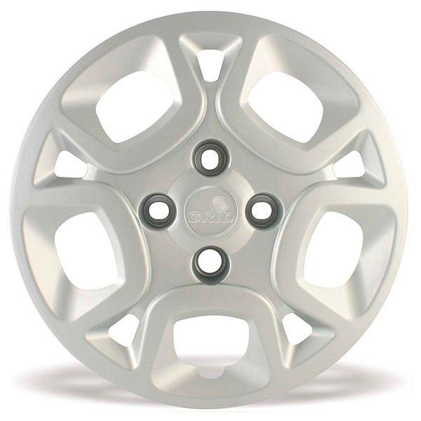Calota Grid Aro 14 Prata Fiat Uno Attractive 1.4 2011  - AutoParts Online