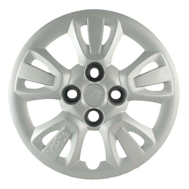 Calota Grid Aro 14 Prata Fiat Uno Way 2011 a 2012 Unidade  - AutoParts Online