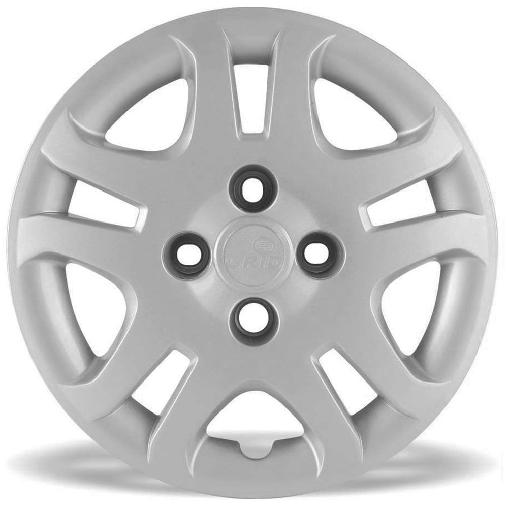 Calota Grid Aro 14 Prata Ford Fiesta Sedan 2011 a 2013 Unidade  - AutoParts Online