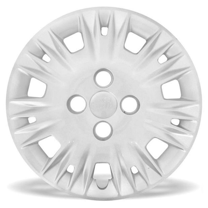 Calota Grid Aro 14 Prata Ford New Fiesta 2014 Unidade  - AutoParts Online