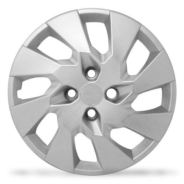 Calota Grid Aro 14 Prata GM Onix Prisma 2014  - AutoParts Online