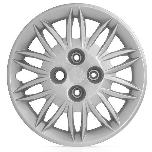 Calota Grid Aro 15 Prata Fiat Idea Attractive 2011 a 2013  - AutoParts Online