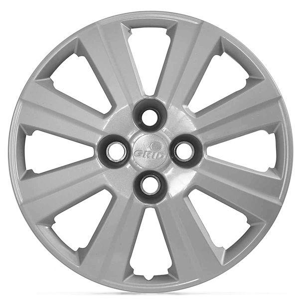 Calota Grid Aro 15 Prata GM Agile 2010 a 2013 Unidade  - AutoParts Online