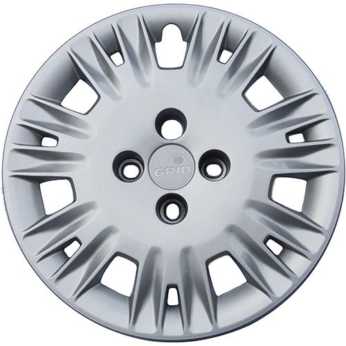 Calota Grid Premium Aro 14 Metalizada Ford New Fiesta 2014  - AutoParts Online
