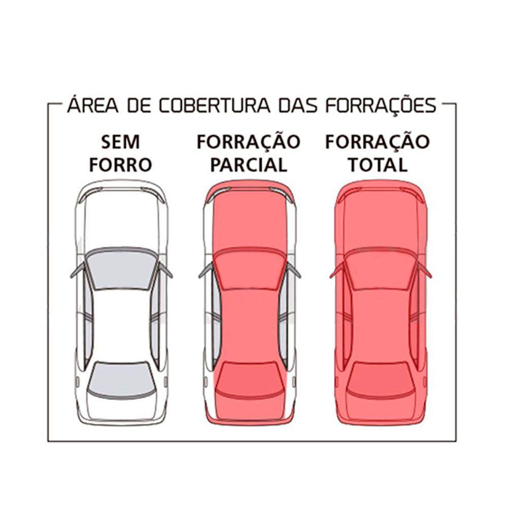 Capa Para Cobrir Carro Forro Parcial Tamanho P  - AutoParts Online