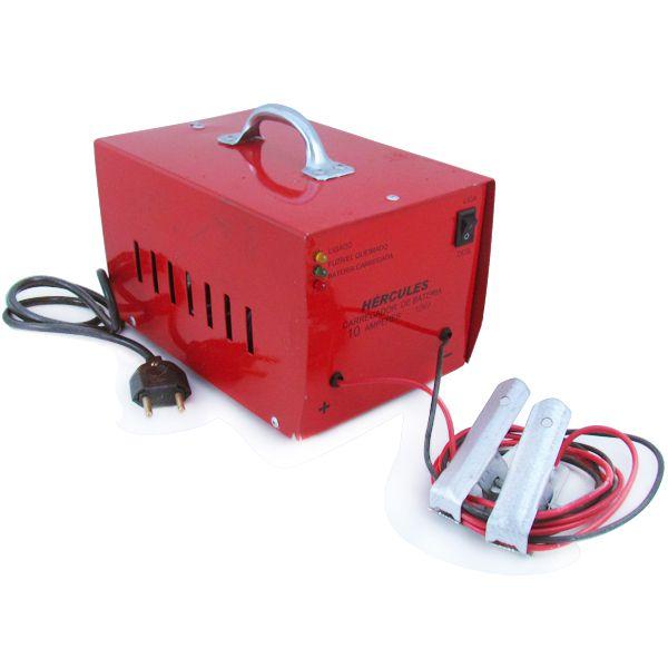 Carregador Automotivo de Bateria 12v 10 Amp Bivolt  - AutoParts Online