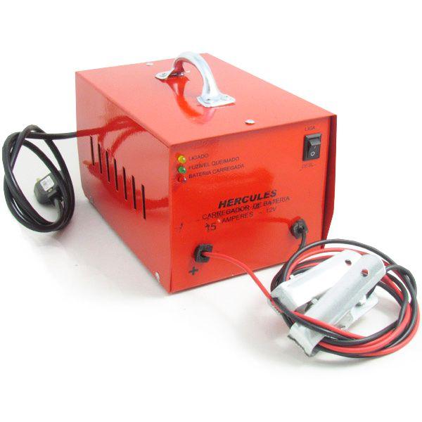 Carregador Automotivo de Bateria 12v 15 Amp Bivolt  - AutoParts Online