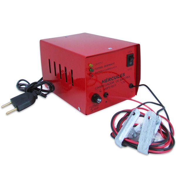 Carregador Automotivo de Bateria 12v 4 Amp Bivolt  - AutoParts Online