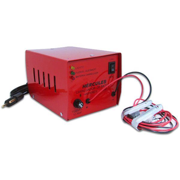 Carregador Automotivo de Bateria 12v 6 Amp Bivolt  - AutoParts Online