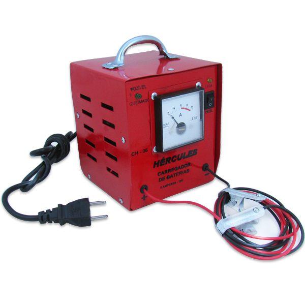 Carregador Automotivo de Bateria 12v 6 Amp com Amperimetro  - AutoParts Online