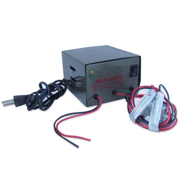 Carregador Automotivo de Bateria 3 Amp Bivolt e conversor 12volts  - AutoParts Online