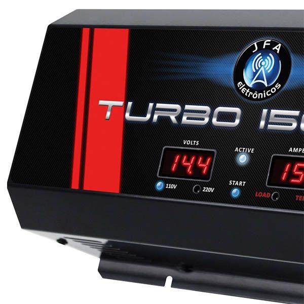 Carregador Eletrônico de Bateria JFA Turbo 1500  - AutoParts Online