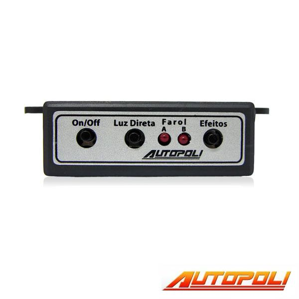 Chave de Farol de Milha Autopoli Ap043 - Controle 8 efeitos de luz  - AutoParts Online