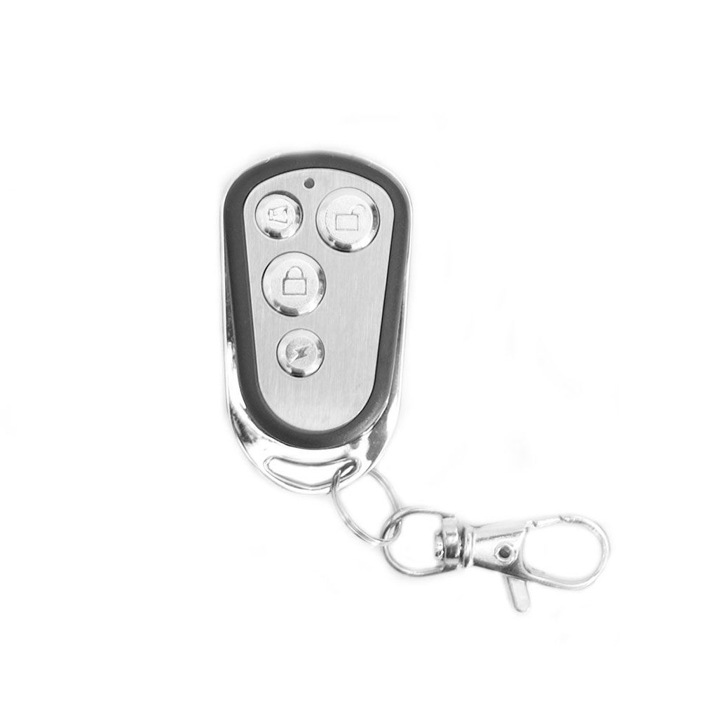 Controle Remoto Fks Cr960  Em Aço Escovado 433 Mhz  - AutoParts Online