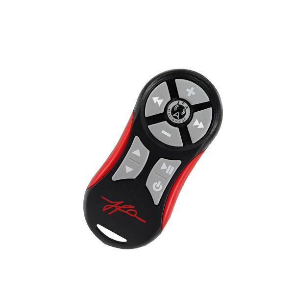 Controle remoto JFA TX Universal Vermelho + Cordão ? Somente Controle  - AutoParts Online