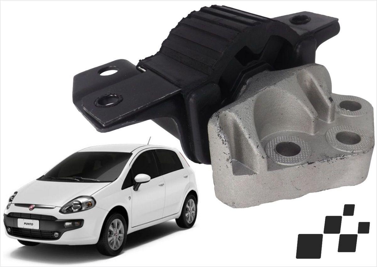Coxim do Motor Dianteiro Direito Fiat Punto 2008 a 2012  - AutoParts Online