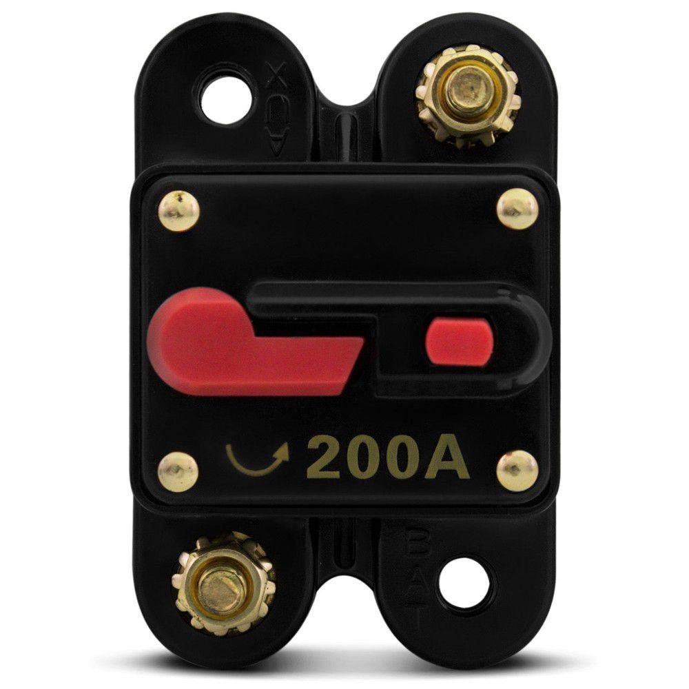Disjuntor Automotivo 200 Amp  - AutoParts Online