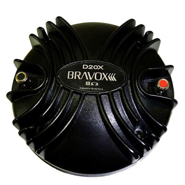 Driver Fenólico Bravox D20X 8 ohms 200W  - AutoParts Online