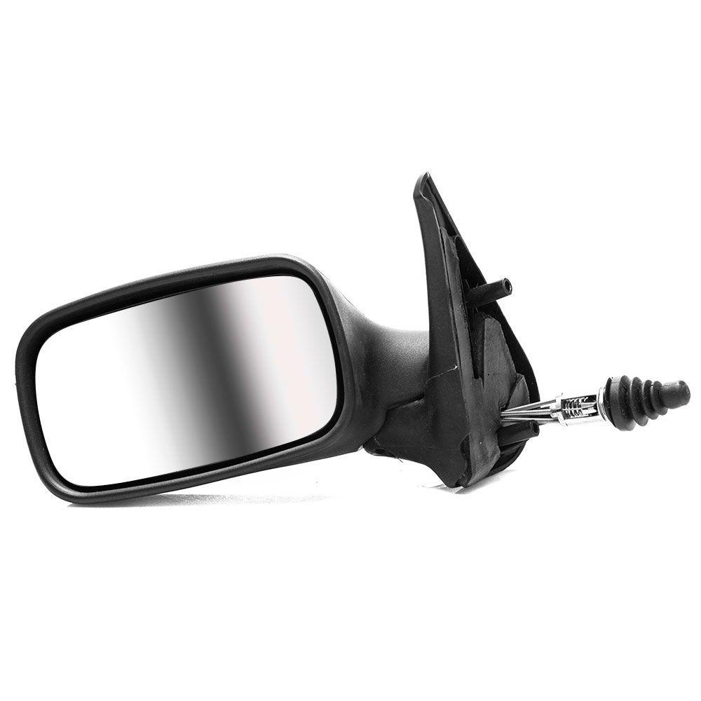 Espelho Retrovisor Manual Fiat Uno Fire 2001 a 2005 4 Portas Esquerdo  - AutoParts Online