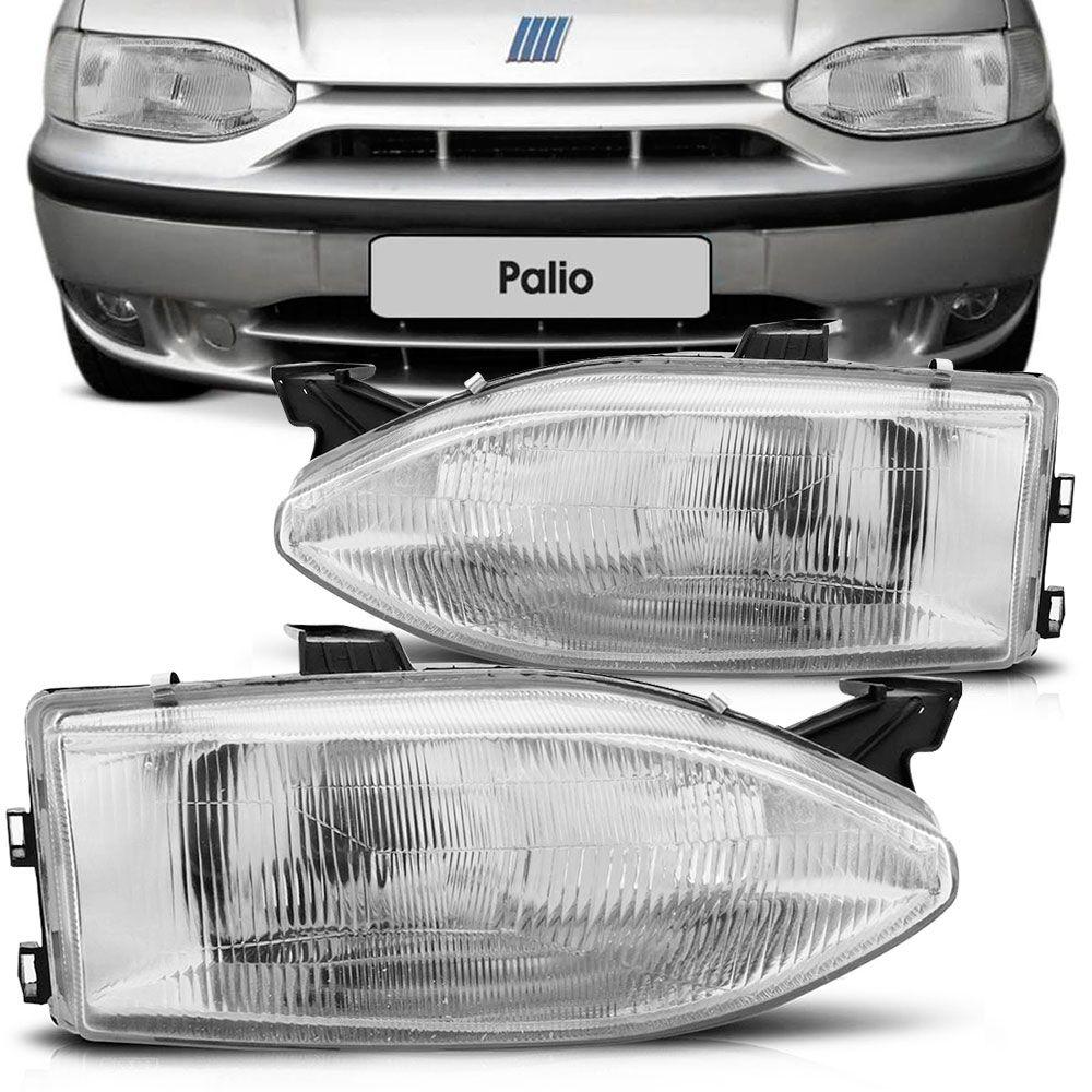 Farol Principal Arteb Fiat Palio Weekend Siena Strada 1999 a 2000 Lado Esquerdo  - AutoParts Online