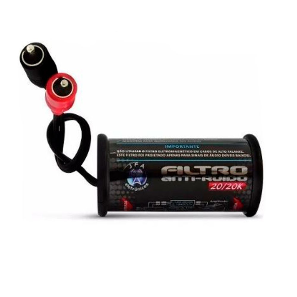 Filtro Anti Ruído Jfa Para Rca Cd Dvd Eletromagnético Stereo  - AutoParts Online