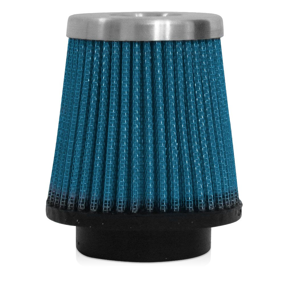 Filtro de Ar Esportivo Rs Air Filter Cônico 52mm Azul  - AutoParts Online