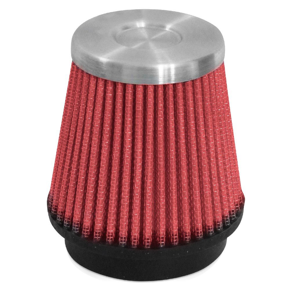 Filtro de Ar Esportivo Rs Air Filter Cônico 70mm Vermelho  - AutoParts Online